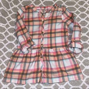 Girl's plaid tunic